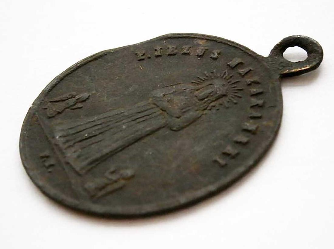 Unusual Poland WW2 Medalion w. STAR of DAVID - 8