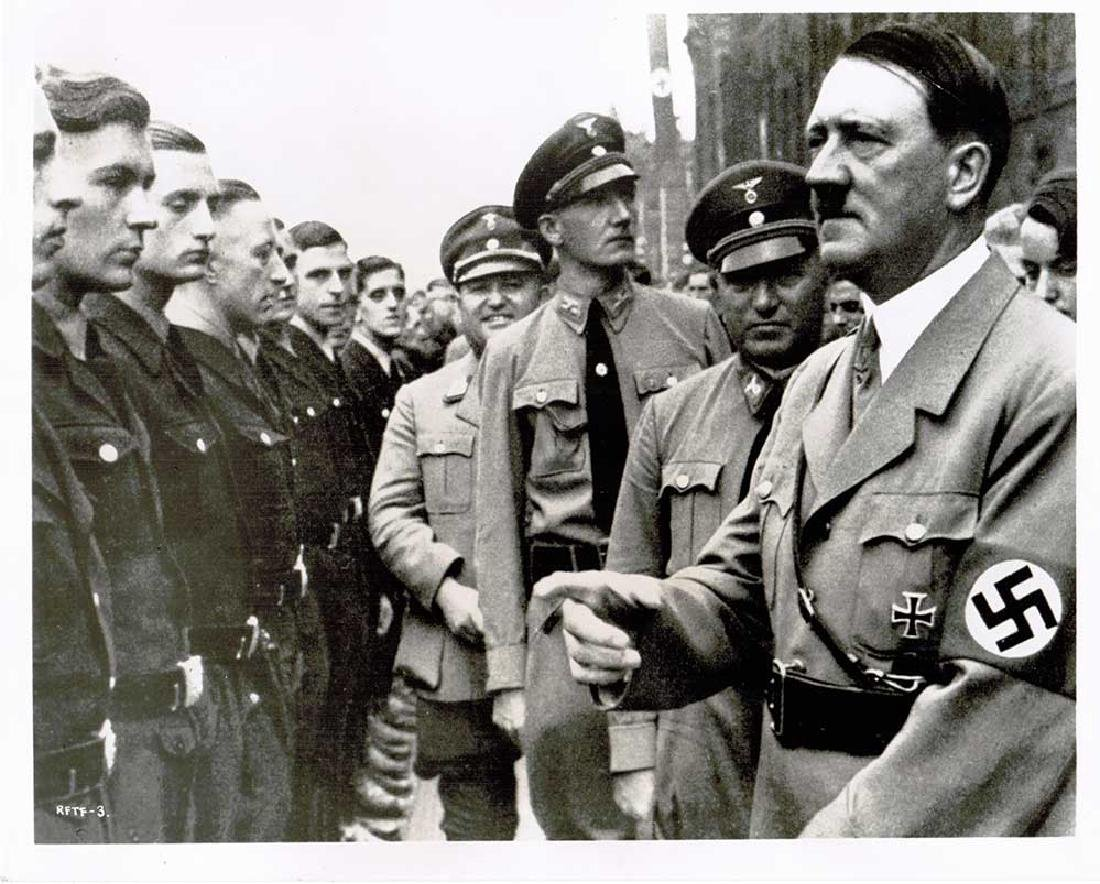 German WWII Photo of Adolf Hitler - 3