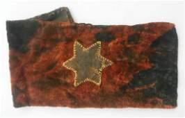 Jewish WW2 Bag w Star of David fr Litzmannstadt