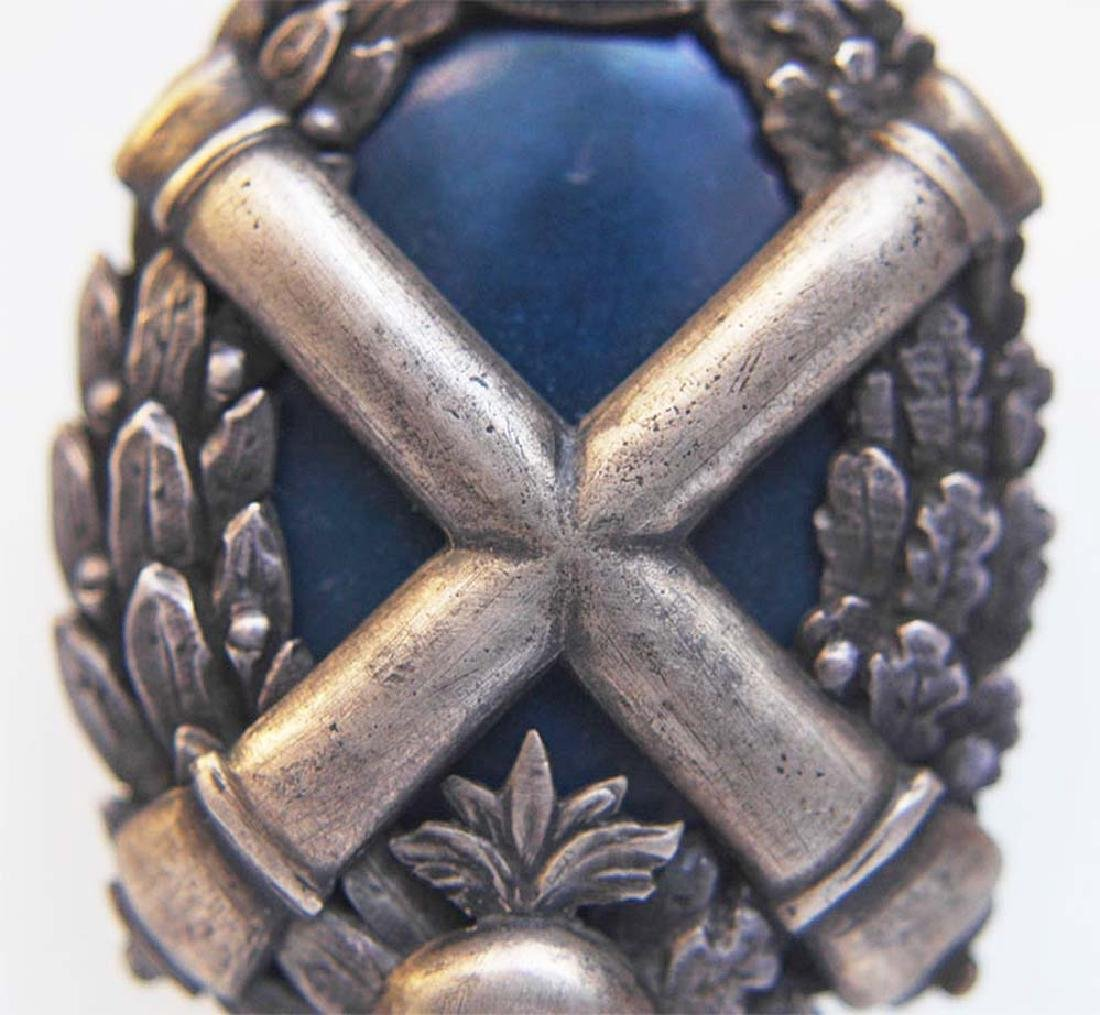 Russian Imperial Badge Kertch fortress Artillery - 3