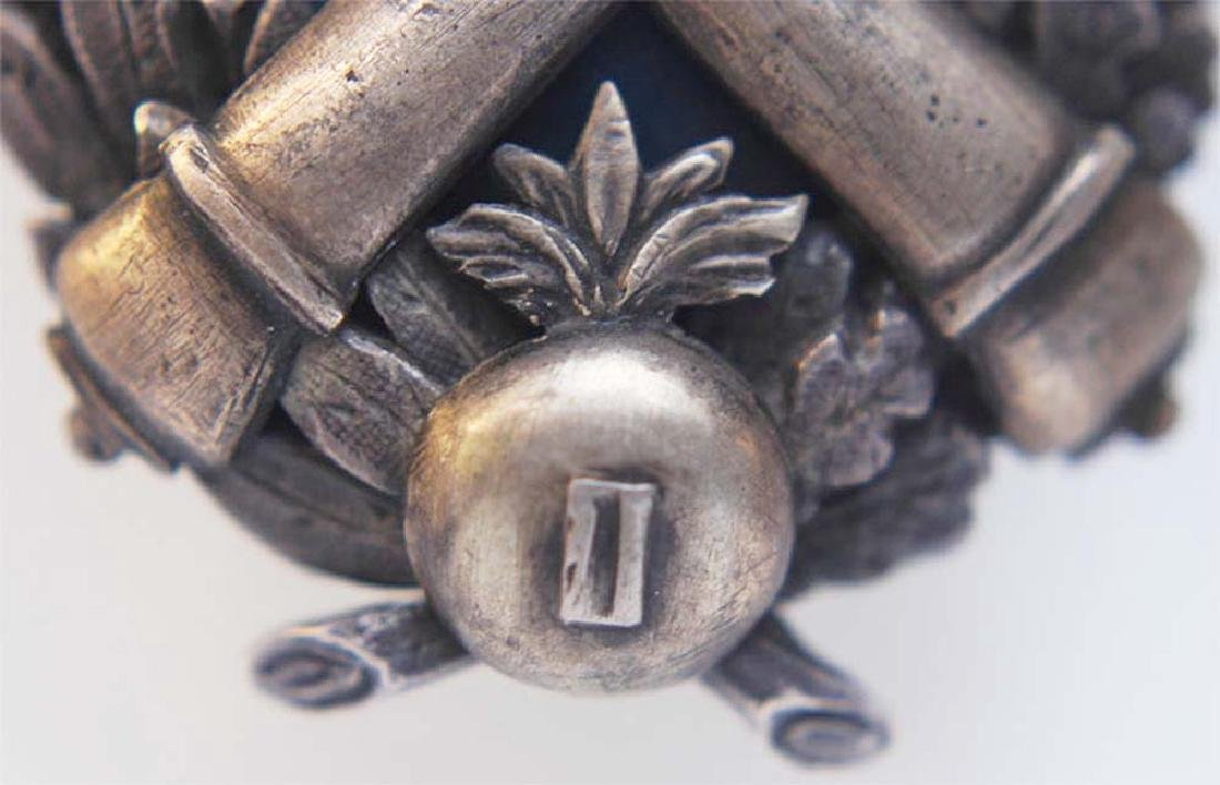 Russian Imperial Badge Kertch fortress Artillery - 5