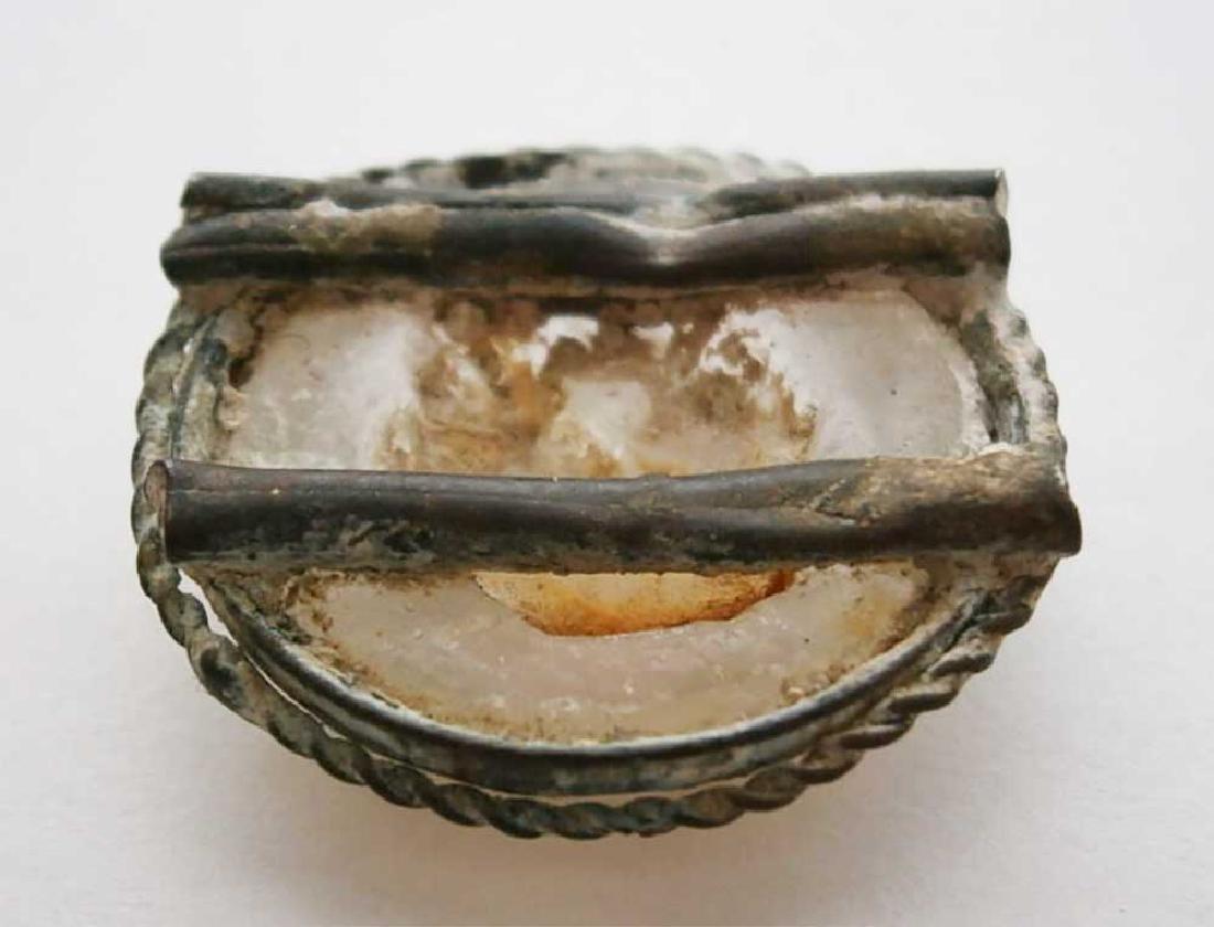 UNIQUE Antique Cameo Carving GLASS, Medieval period - 10