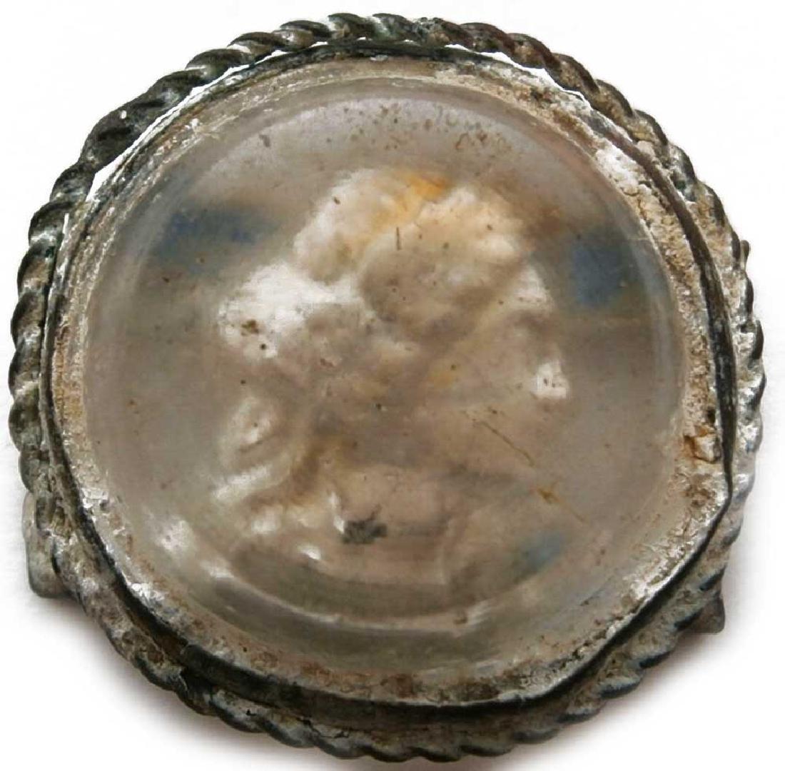 UNIQUE Antique Cameo Carving GLASS, Medieval period - 2