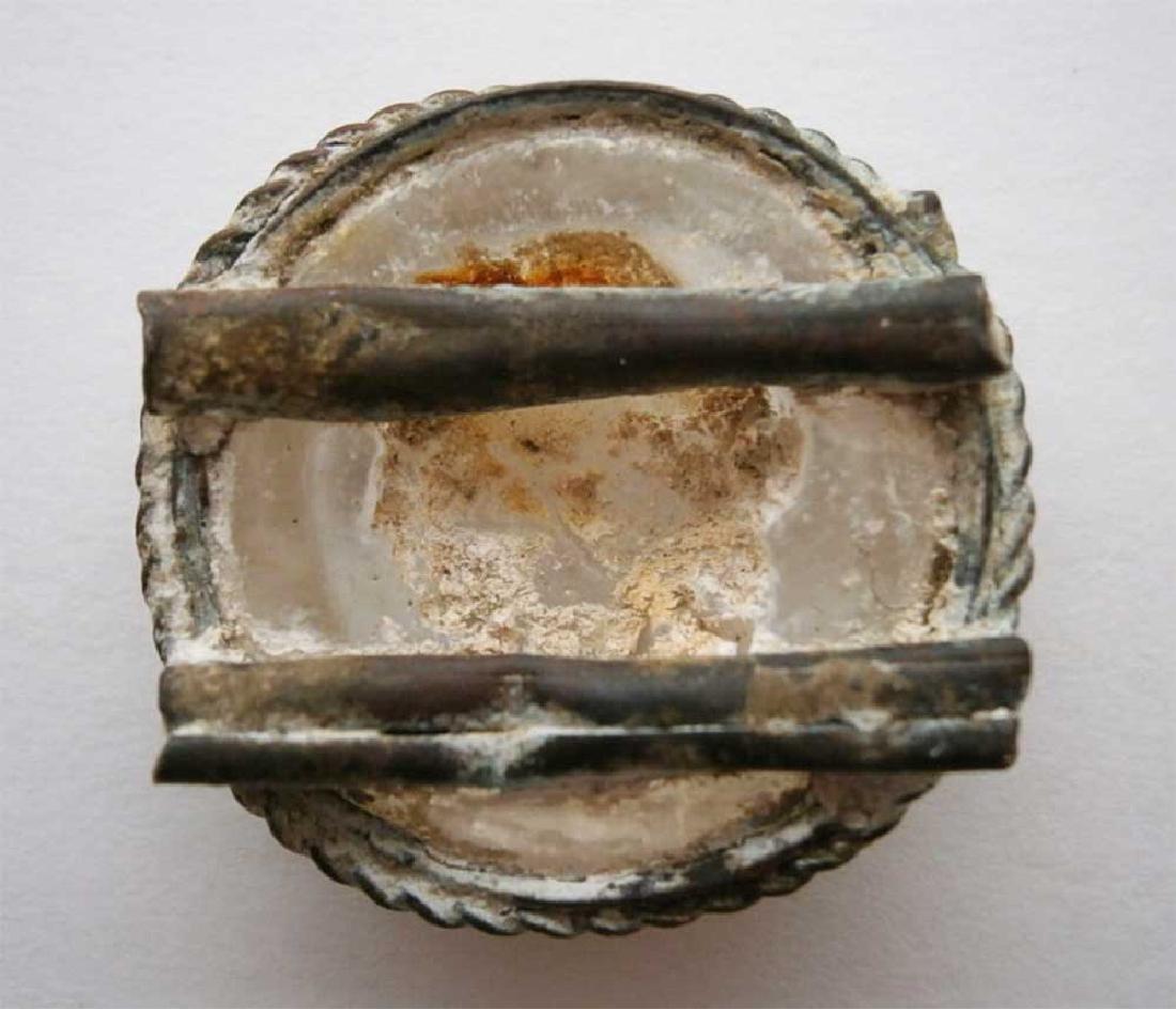 UNIQUE Antique Cameo Carving GLASS, Medieval period - 8