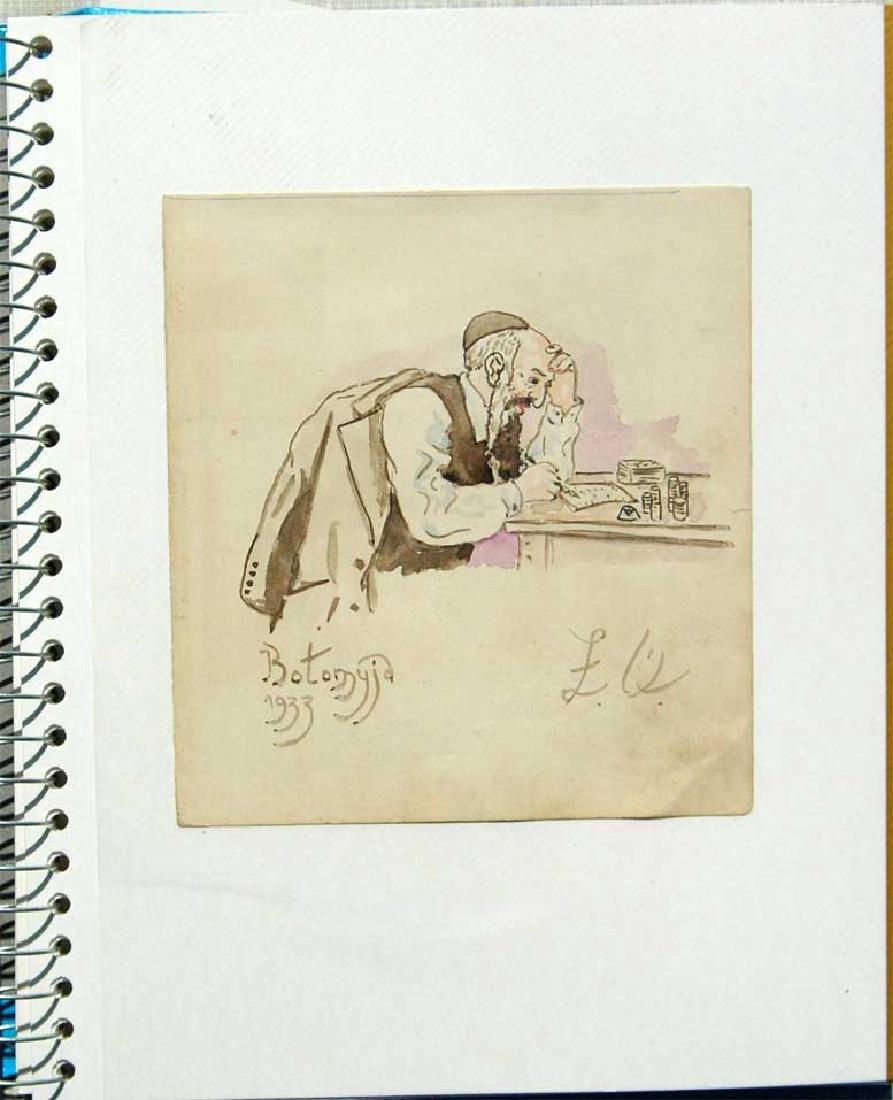 Jewish Picture of Lazar Weisman, 1933, Kolomyja - 2