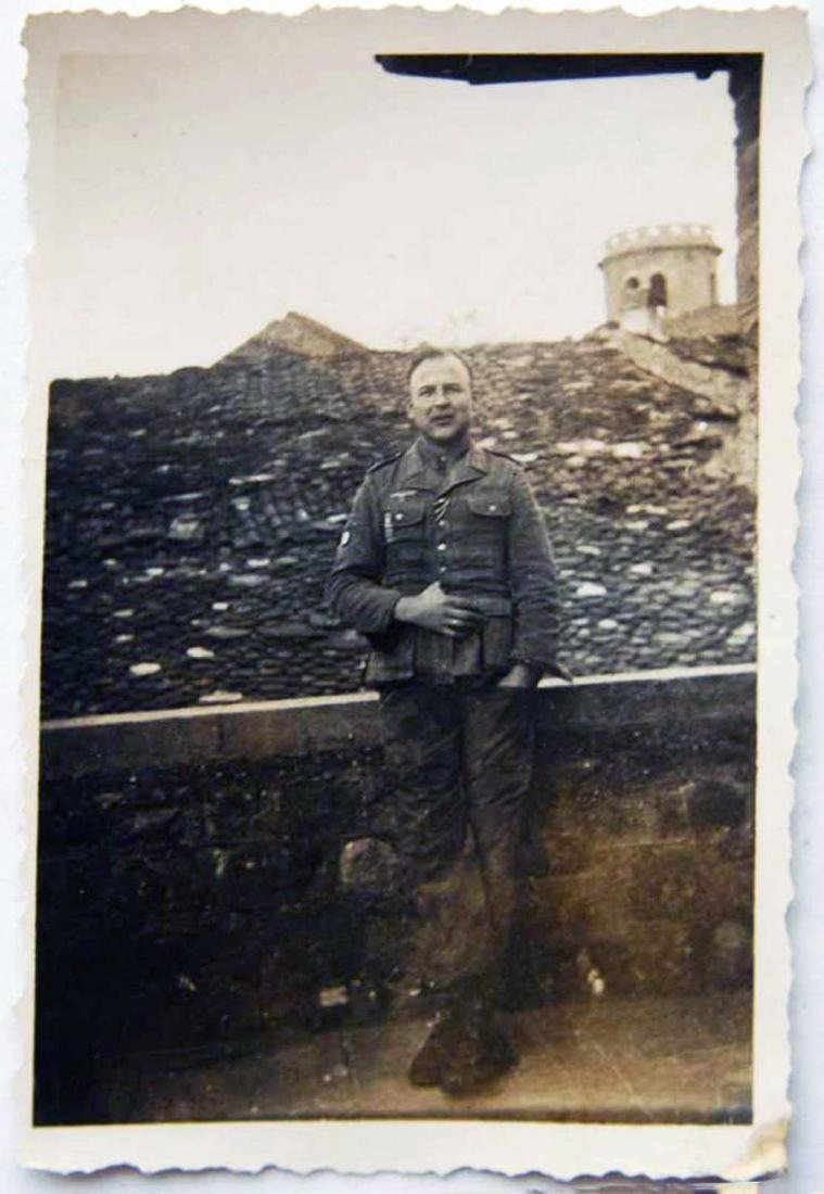 Photo of German volunteer soldier from ROA, 1945 - 2