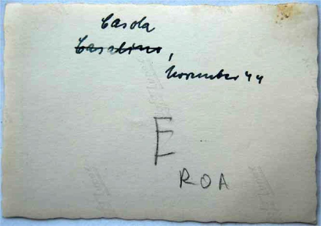 Photo of German volunteer soldier from ROA, 1945 - 3
