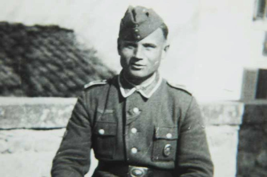 Photo of Russian volunteer soldier from ROA, 1943