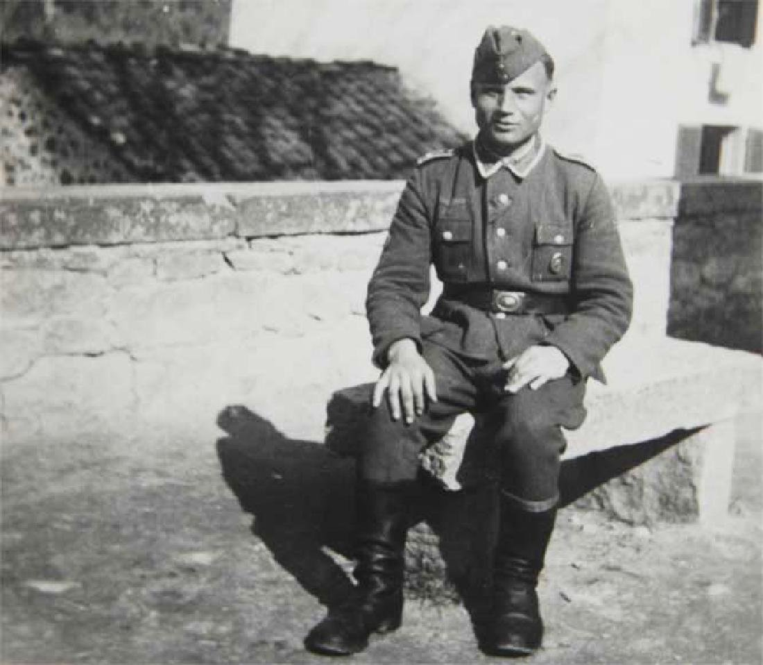 Photo of Russian volunteer soldier from ROA, 1943 - 2
