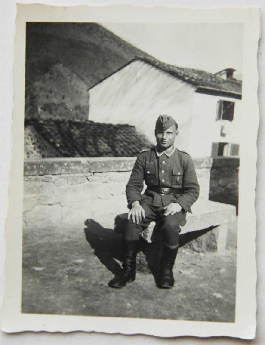 Photo of Russian volunteer soldier from ROA, 1943 - 3