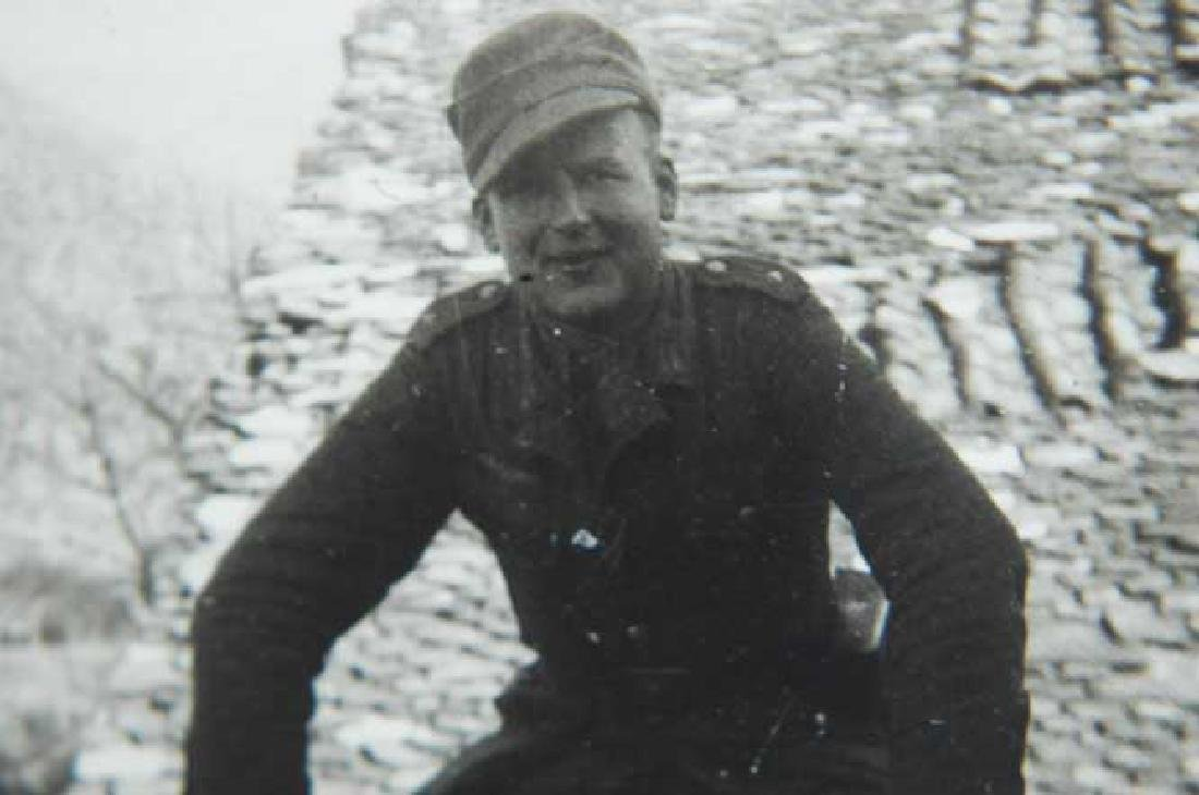 Photo of Russian volunteer soldier from ROA, 1944