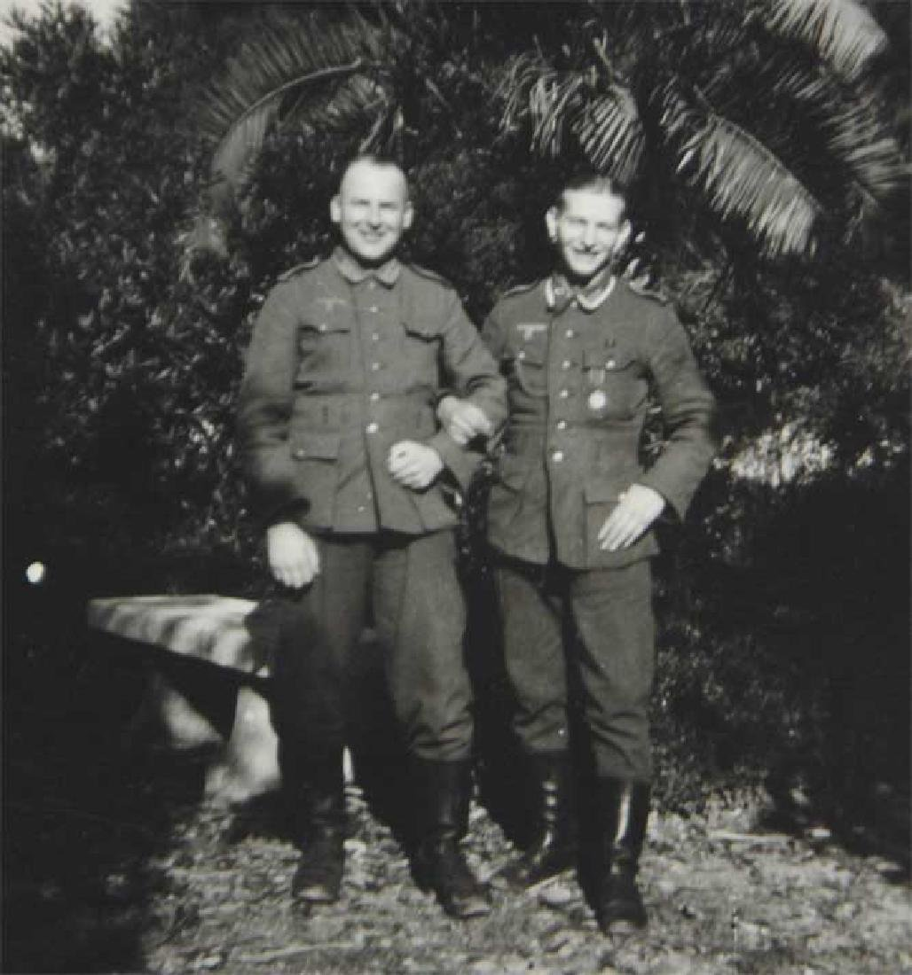 Photo of Russian volunteer soldier from ROA, 1945