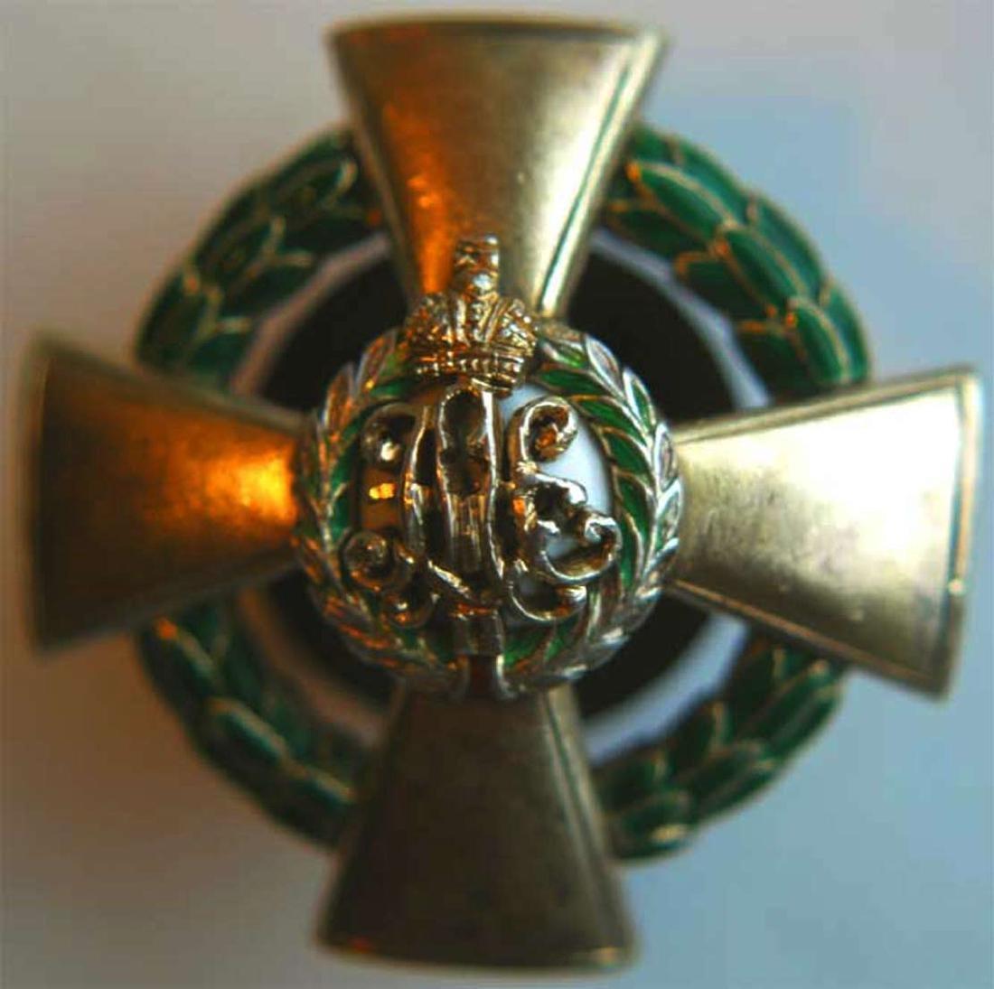 Russian Imperial Badge 91st Dvinsk Infantry Regiment