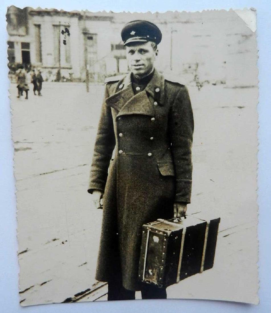 Russian Soviet Photo WW2 - back Home, 1945