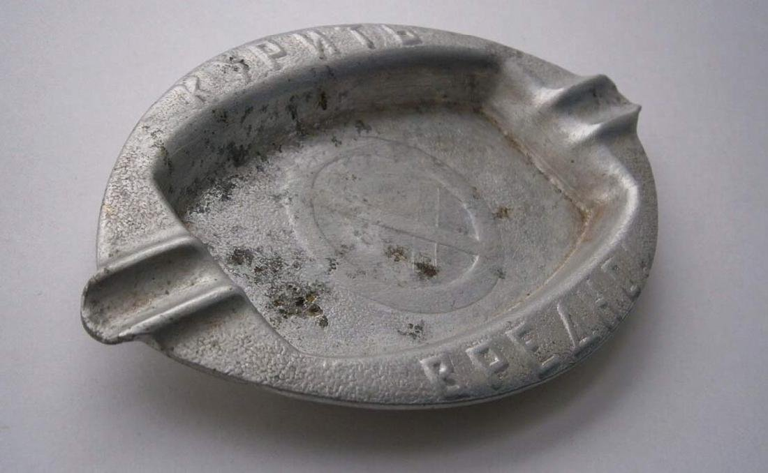 Russian Ashtray - Smoking is Harmful - NO SMOKING, - 2