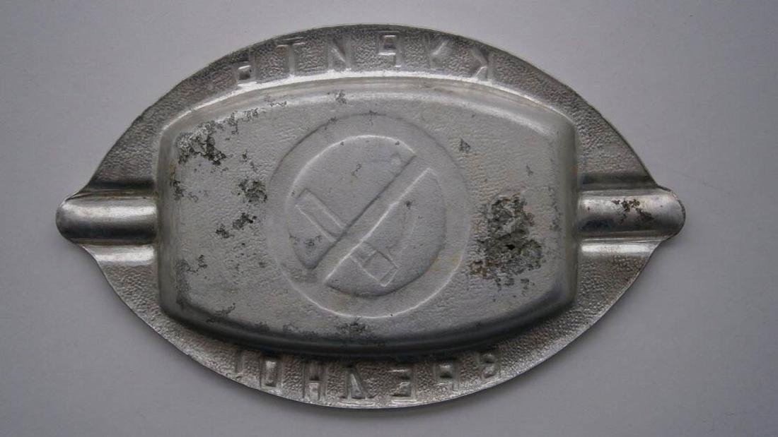 Russian Ashtray - Smoking is Harmful - NO SMOKING, - 6