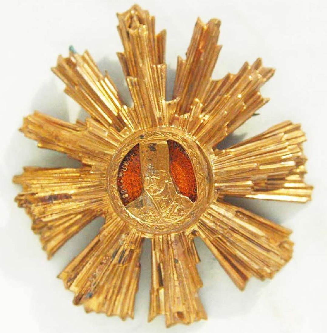 WW2 Romanian GOLD Star Order Tudor Vladimirescu