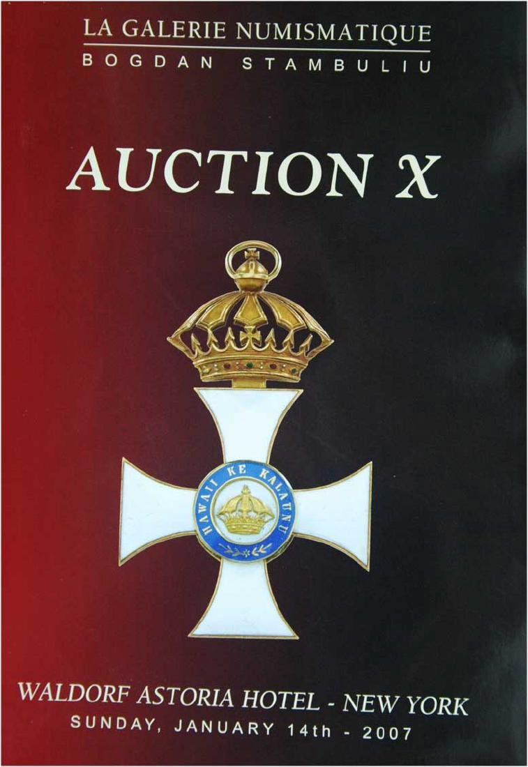 Useful Catalogue of Auction X, La Galerie Numismatique