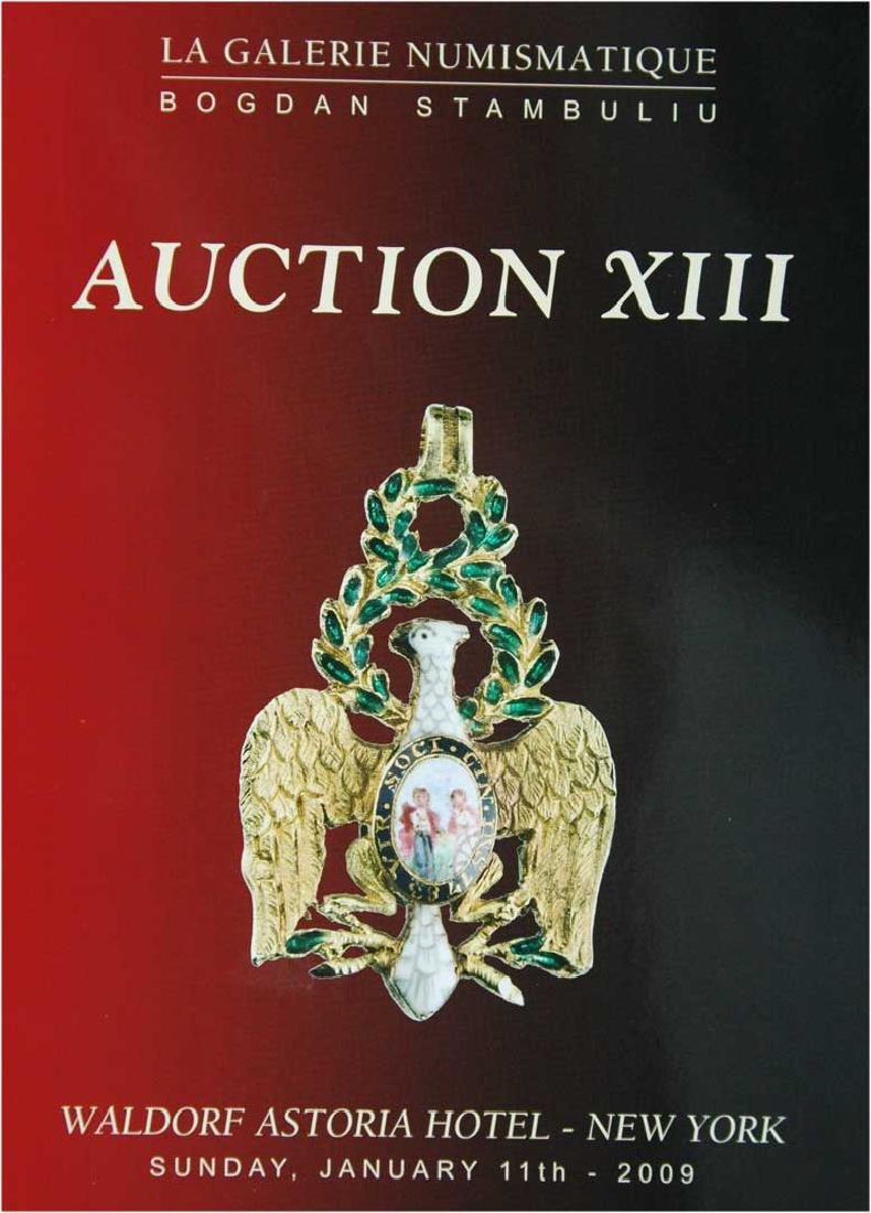 Catalogue of Auction XIII, La Galerie Numismatique,
