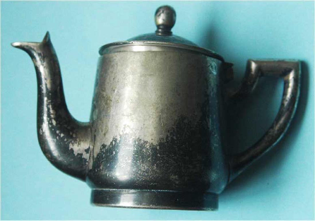 WW2 Coffee Pot from Ghetto in SLOVAKIA - 3