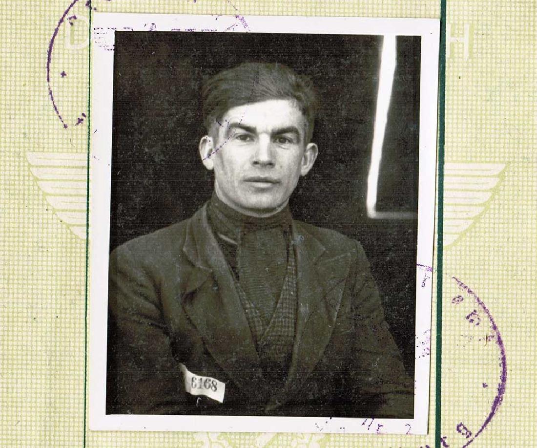 German WW2 Arbeitsbuch for Ukrainian worker