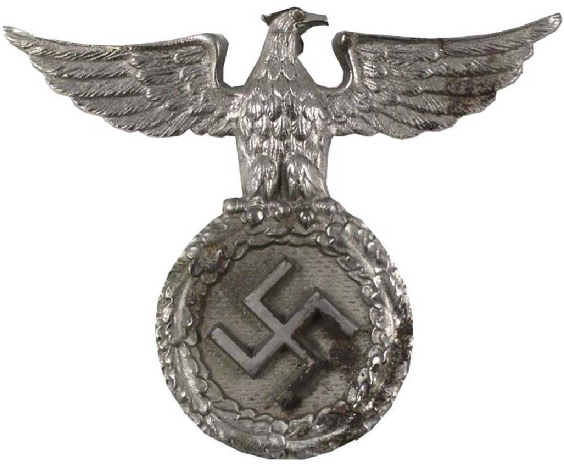 GERMAN WW2 NSDAP CAST IRON DESK EAGLE, 1930s