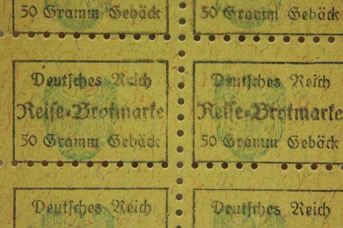 German WW2 Meal Ticket from Litzmannstadt