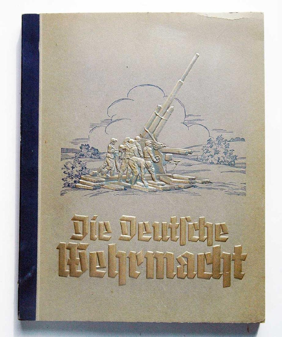 German WW2 Military Photo Book WEHRMACHT, 1933 - 1945