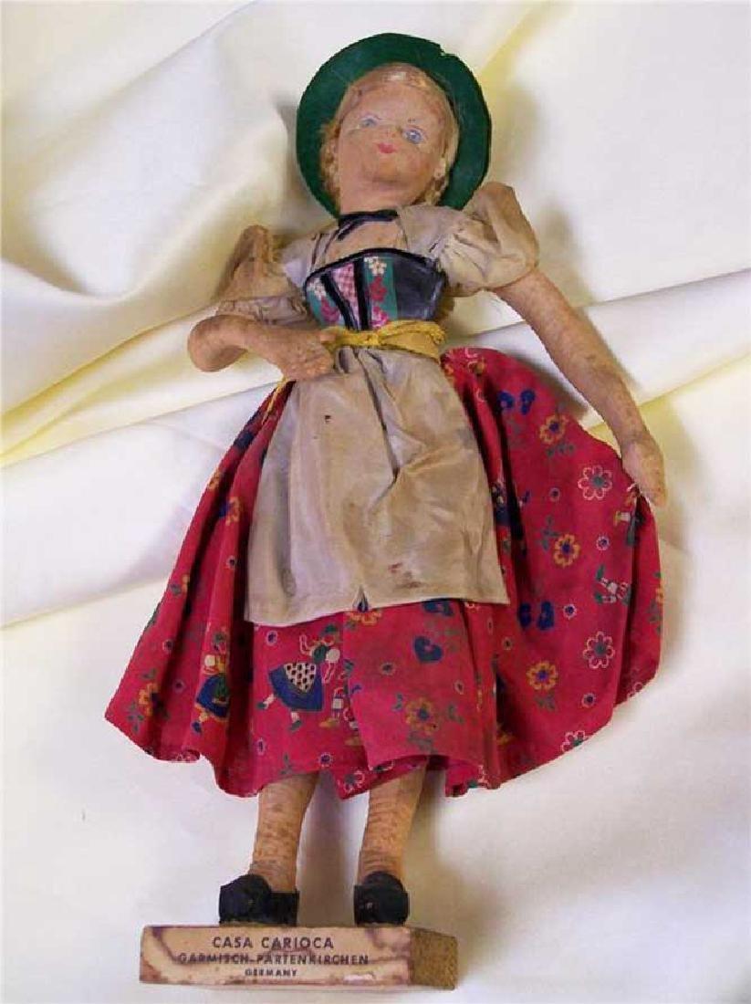 Rare German WW2 Doll Casa Carioca, Garmisch