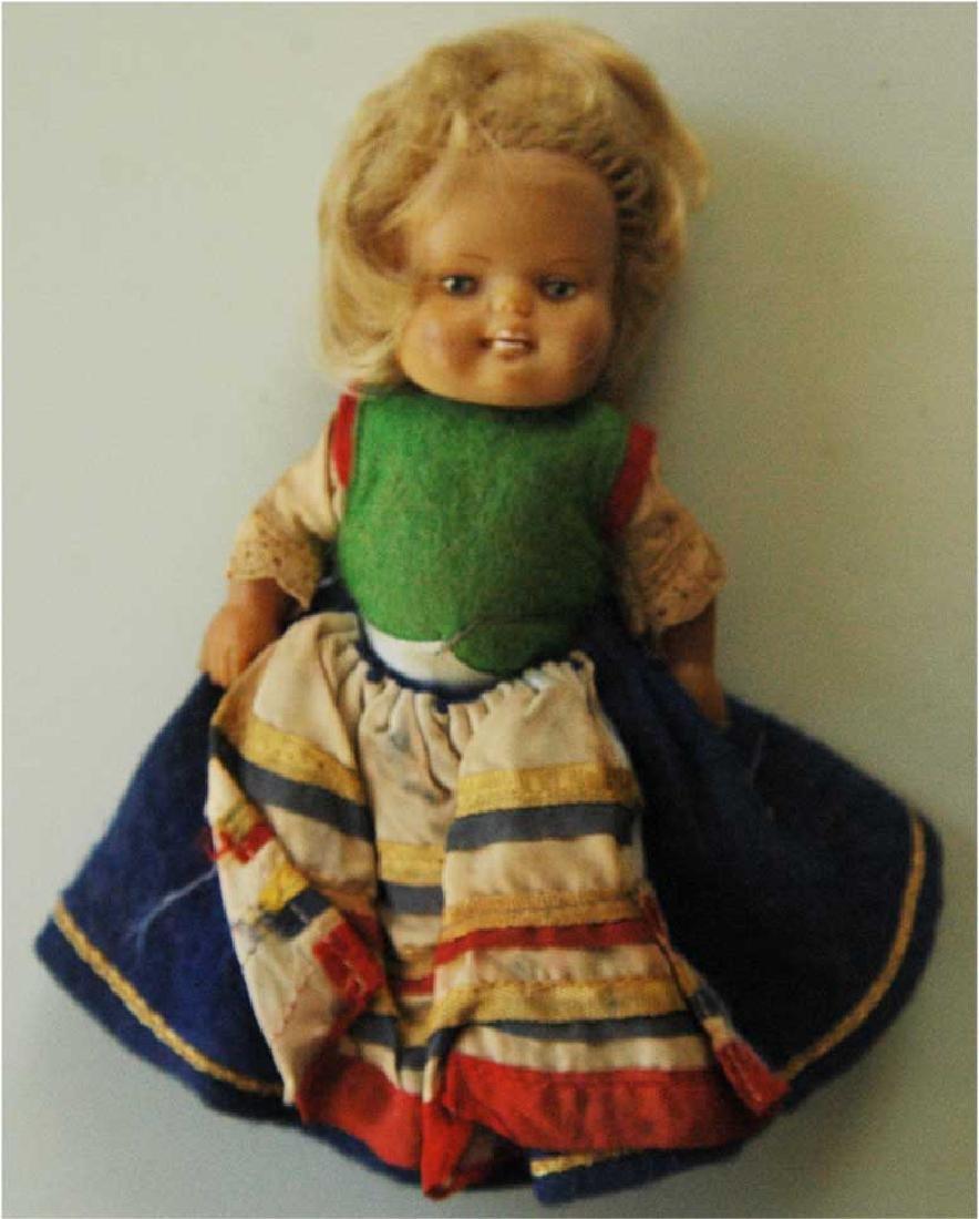 Rare Original German WW2 Doll