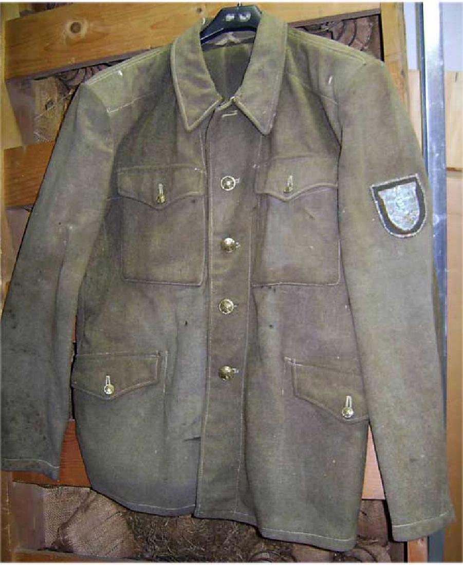 German WW2 Nazist Uniform with Krim Shield