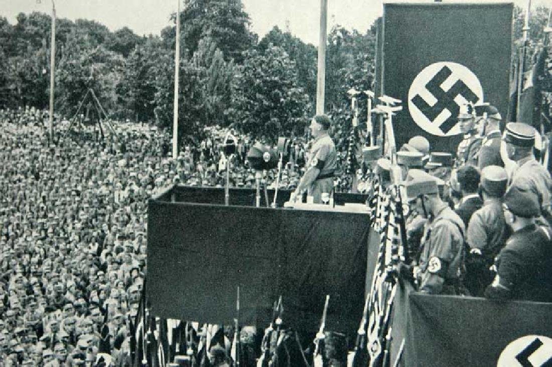 Professional German Photo NSDAP History, 1933