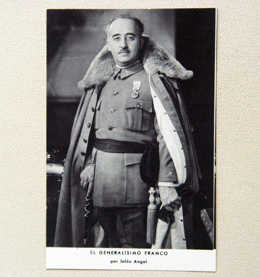 Photo Generalissimo of Spain Franco, 1938