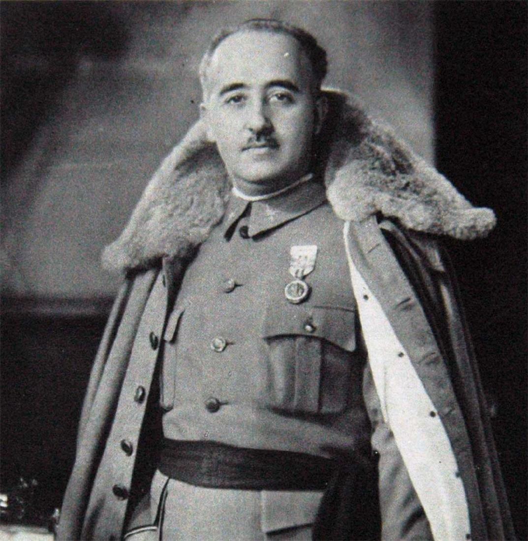Photo Generalissimo of Spain Franco, 1938 - 2