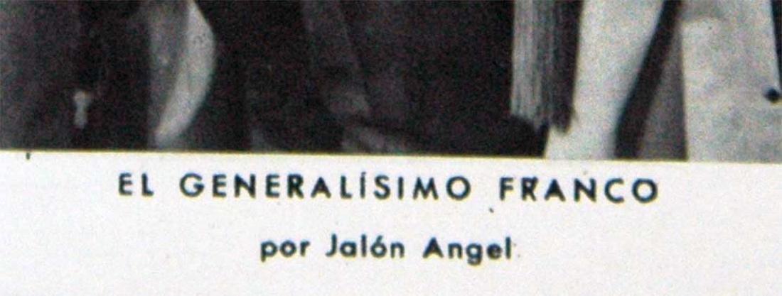 Photo Generalissimo of Spain Franco, 1938 - 4