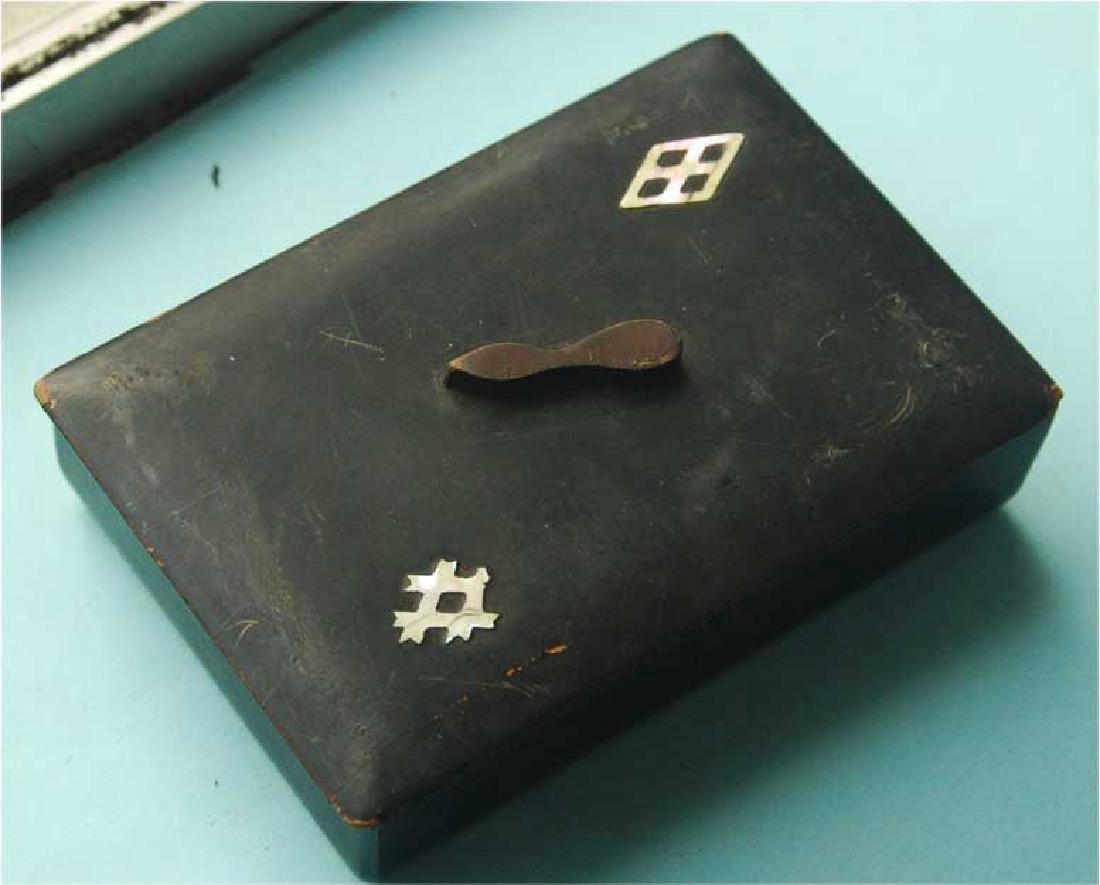 Jewish Jewellery Box from Litzmannstadt, Poland