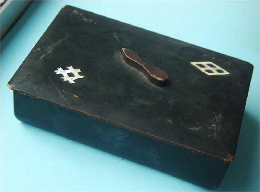 Jewish Jewellery Box from Litzmannstadt, Poland - 2