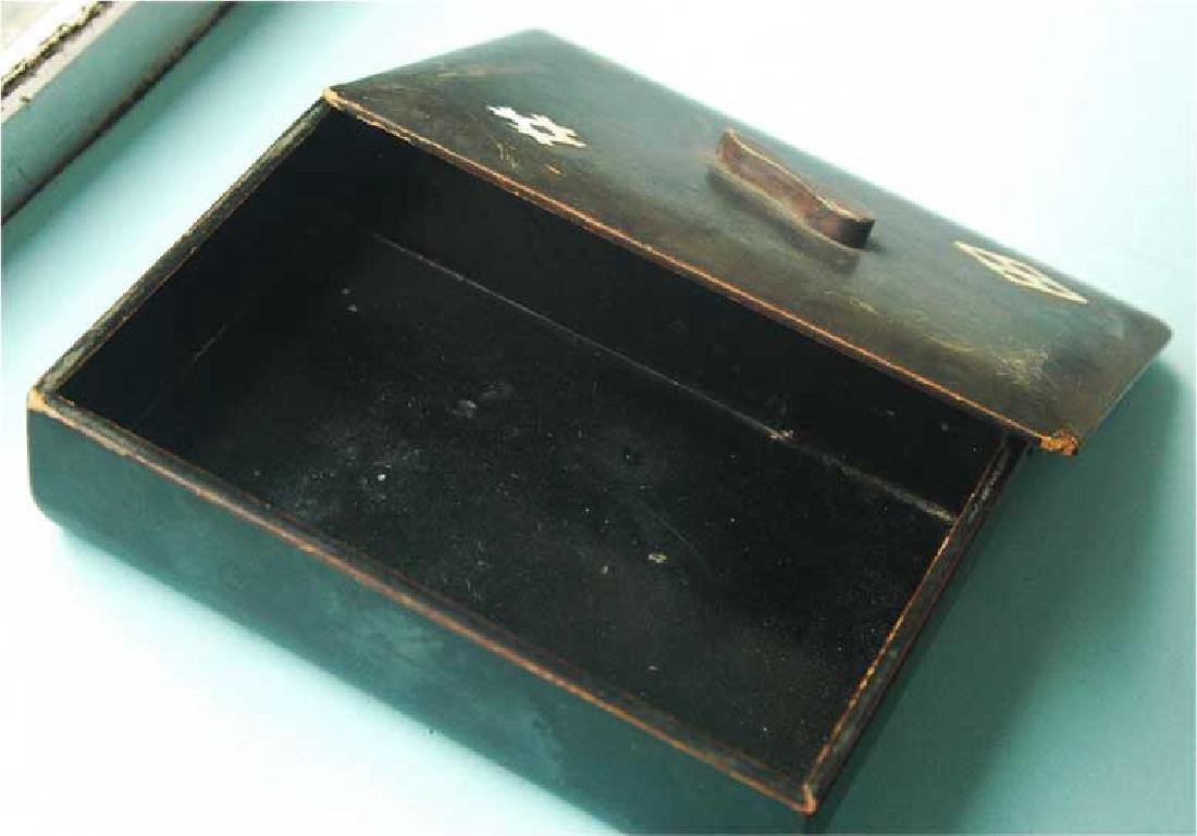 Jewish Jewellery Box from Litzmannstadt, Poland - 4
