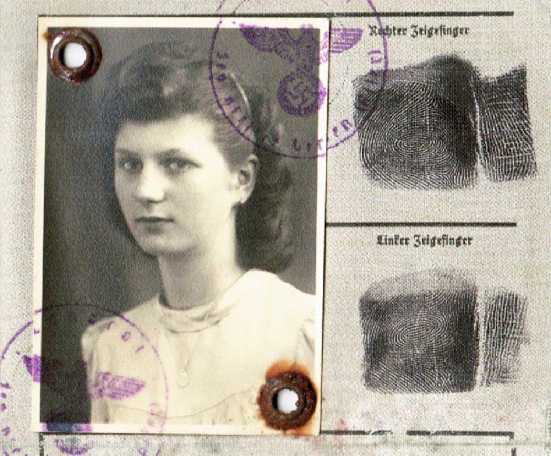 Jewish WW2 ID Document fr. Occupied Warsaw, 1944