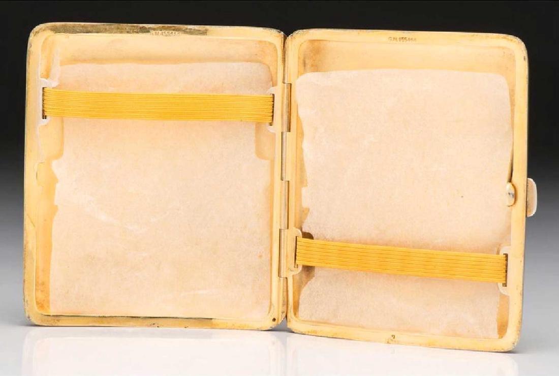 GERMAN Cigarette Case, Cigarette Holder, and Match Safe - 4