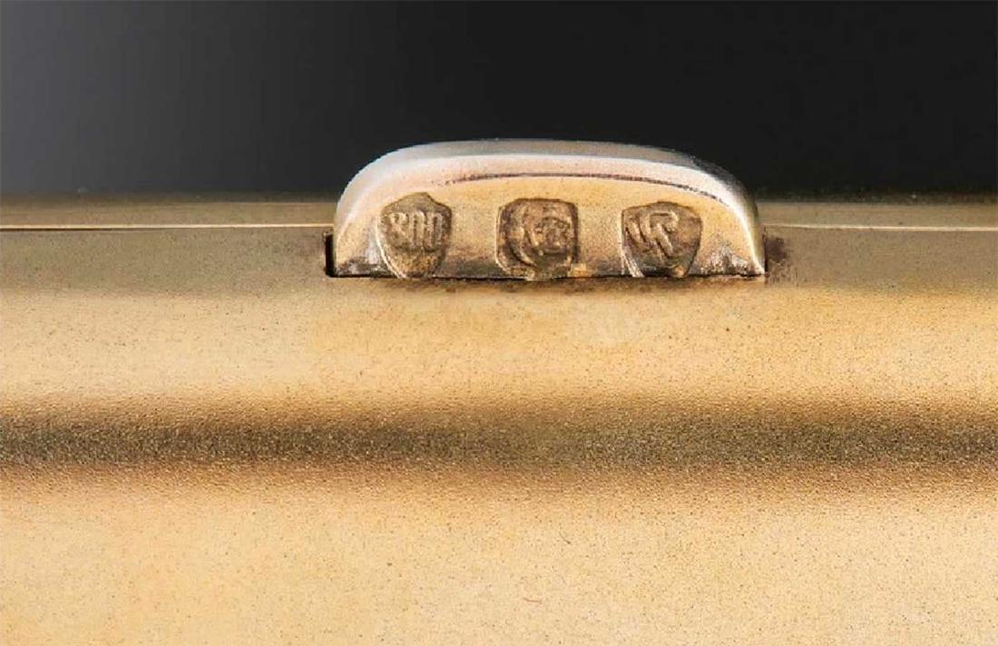 GERMAN Cigarette Case, Cigarette Holder, and Match Safe - 6
