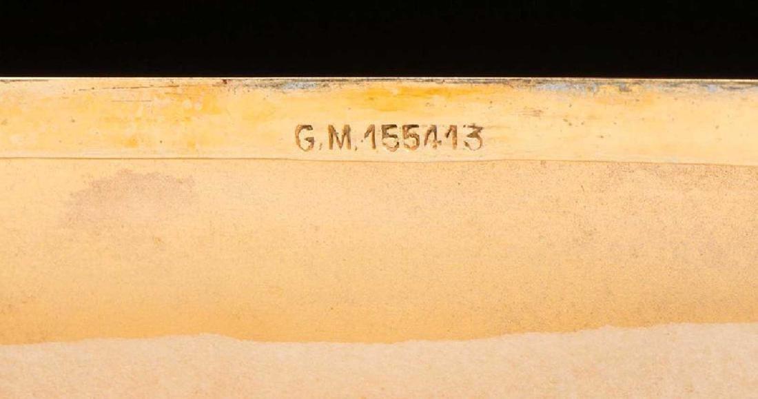 GERMAN Cigarette Case, Cigarette Holder, and Match Safe - 7