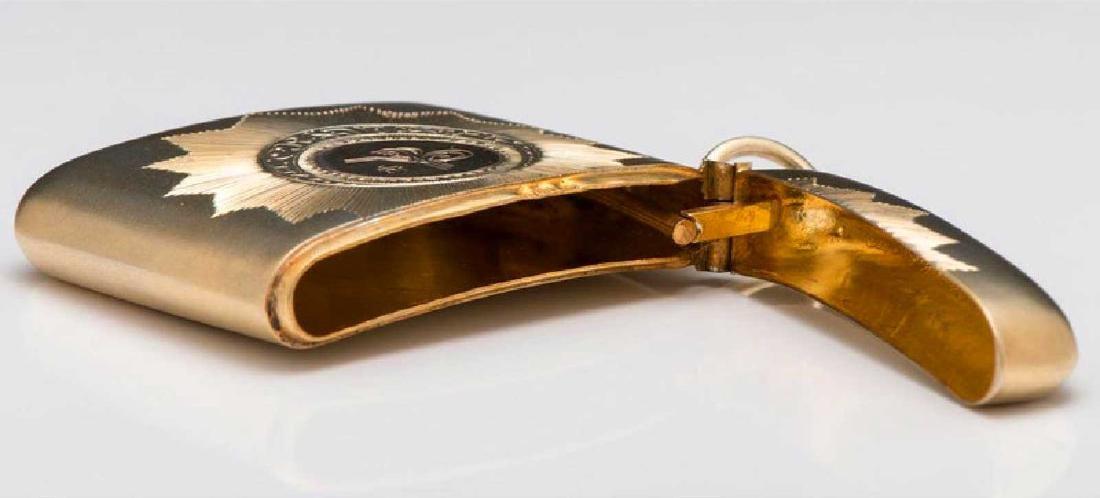 GERMAN Cigarette Case, Cigarette Holder, and Match Safe - 8