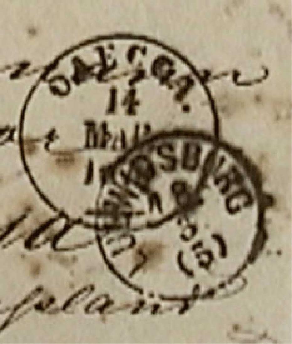 Rare Envelope PHILATELY - 1870, Wien - Russia - 4