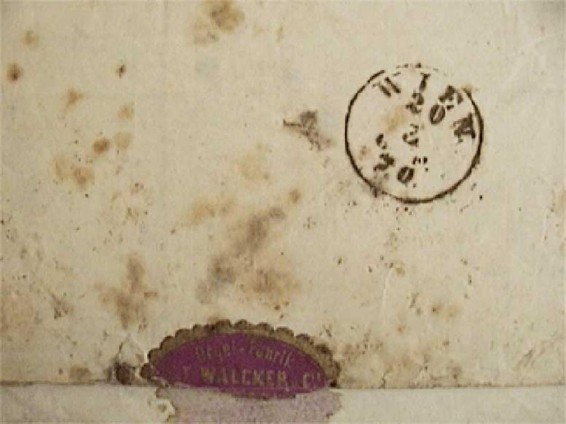 Rare Envelope PHILATELY - 1870, Wien - Russia - 5