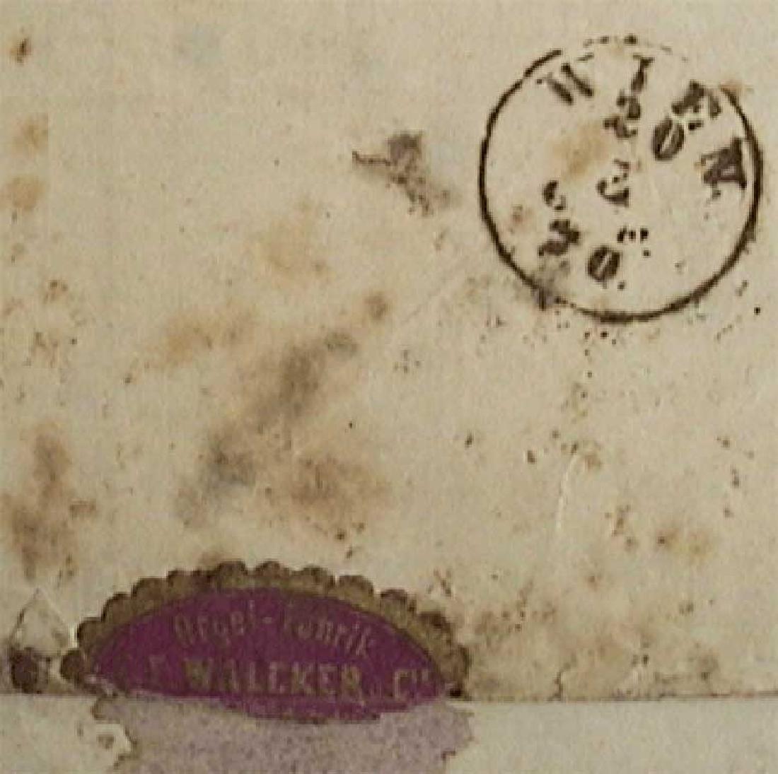 Rare Envelope PHILATELY - 1870, Wien - Russia - 6