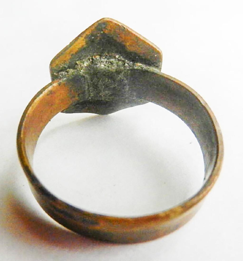Original Jewish WW2 Ring w. Star of David, JUDAICA - 7