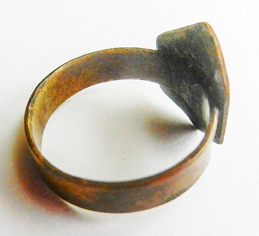 Original Jewish WW2 Ring w. Star of David, JUDAICA - 8