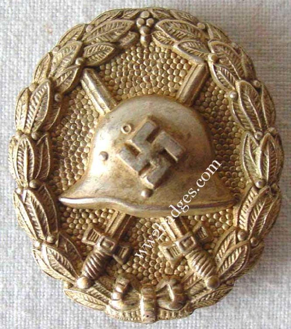 German WW2 Wound Badge CONDOR LEGION + photo
