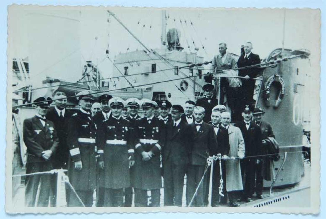 German WW2 Photo U-boat U-660, KGB archive